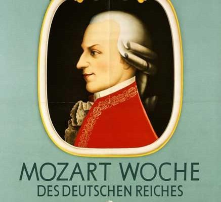 Mozart Concert Poster