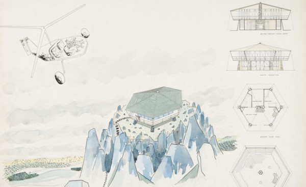 James Frazer Stirling, plans for 'Forest Ranger's Lookout Station'