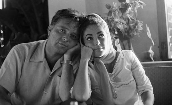 Richard Burton and Elizabeth Taylor