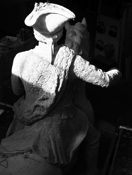 Meekyoung Shin Duke Camberland soap statue
