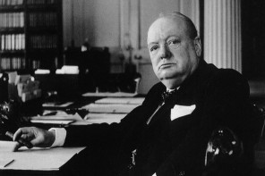 Who was The Literary Churchill?