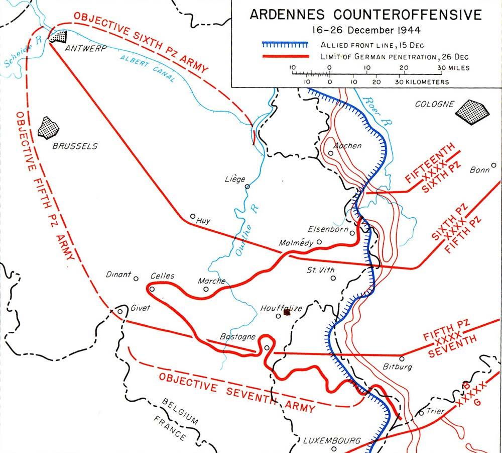 Those Who Hold Bastogne: Locking Shields - Yale University ...