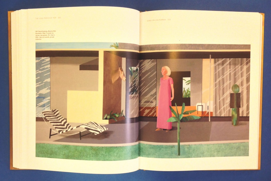 David Hockney, 'Beverly Hills Housewife', 1966-7David Hockney, 'Beverly Hills Housewife', 1966-7