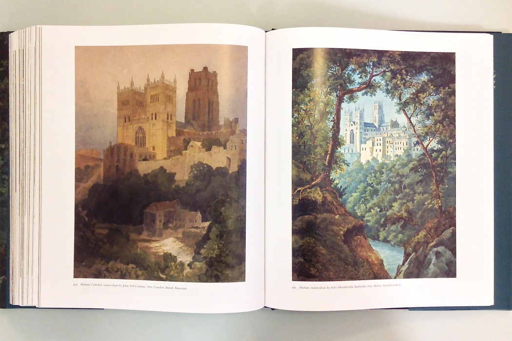 Watercolours of Durham Cathedral