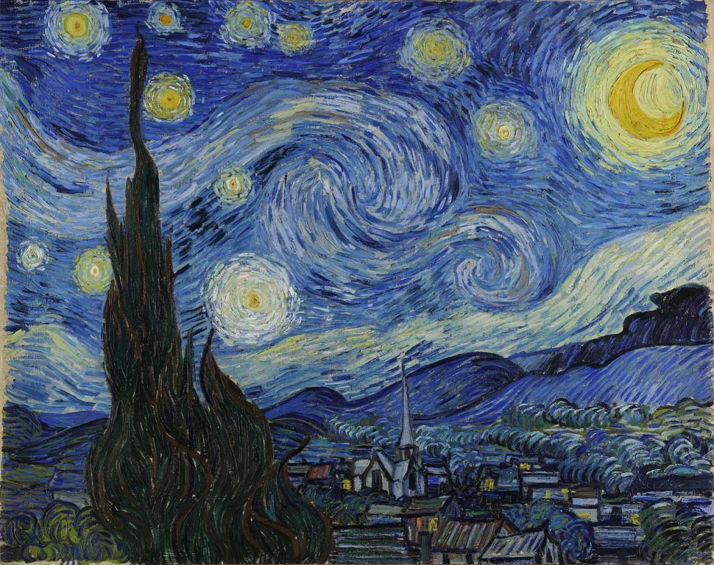 'The Starry Night', June 1889, van Gogh