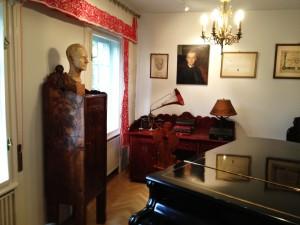 Bartók's music room