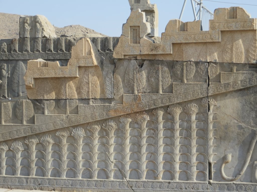 Monumental staircase at Persepolis