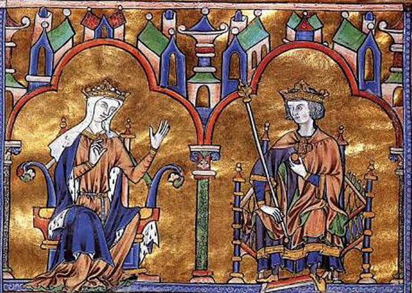 Blanche of Castile and Louis IX of France