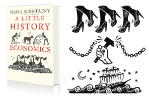 Q&A with Hazel Partridge, Illustrator of A Little History of Economics