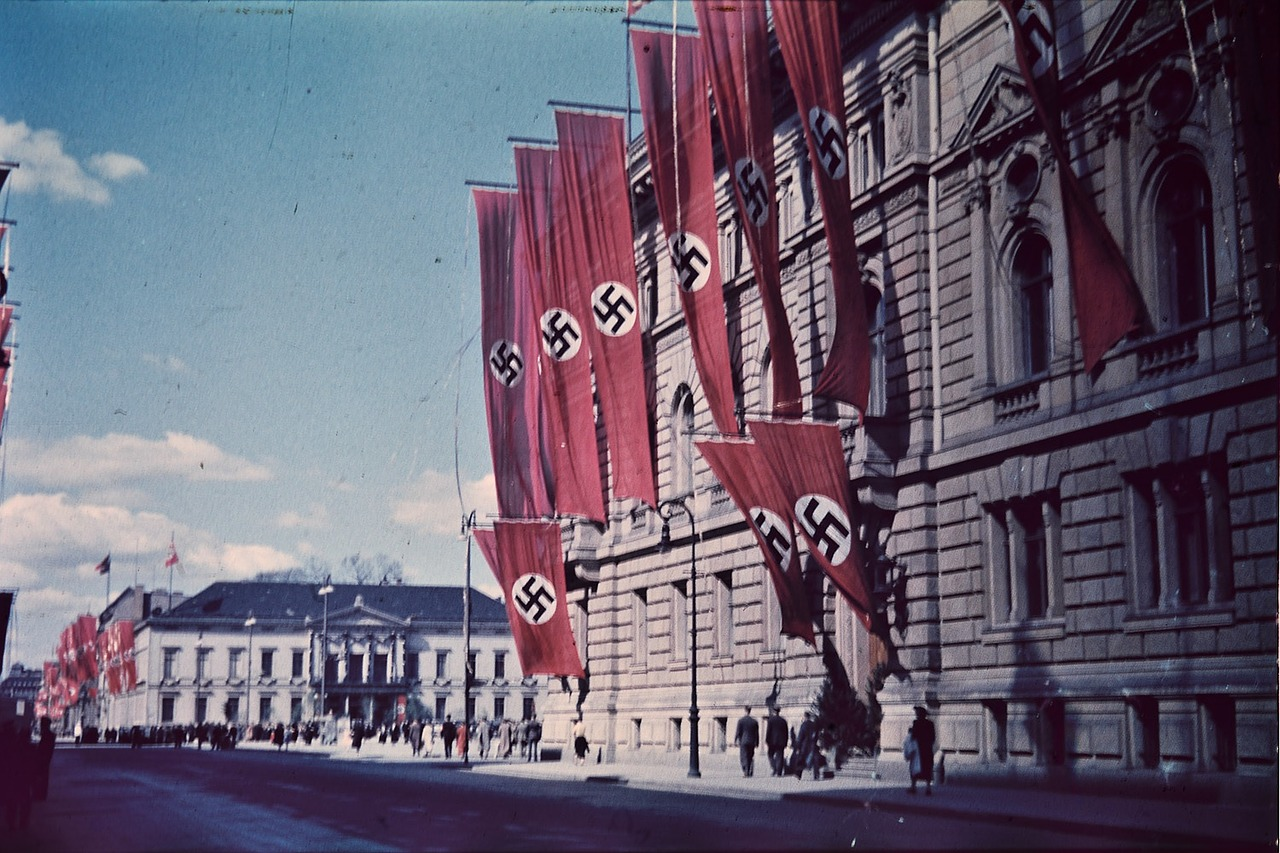 Nazi Swastikas Third Reich Berlin Flags Germany - Yale University