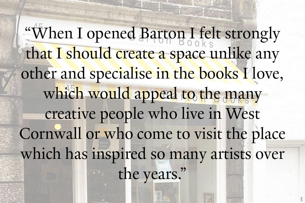 Barton Books Quote