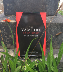 The Vampire – A Q&A with Nick Groom