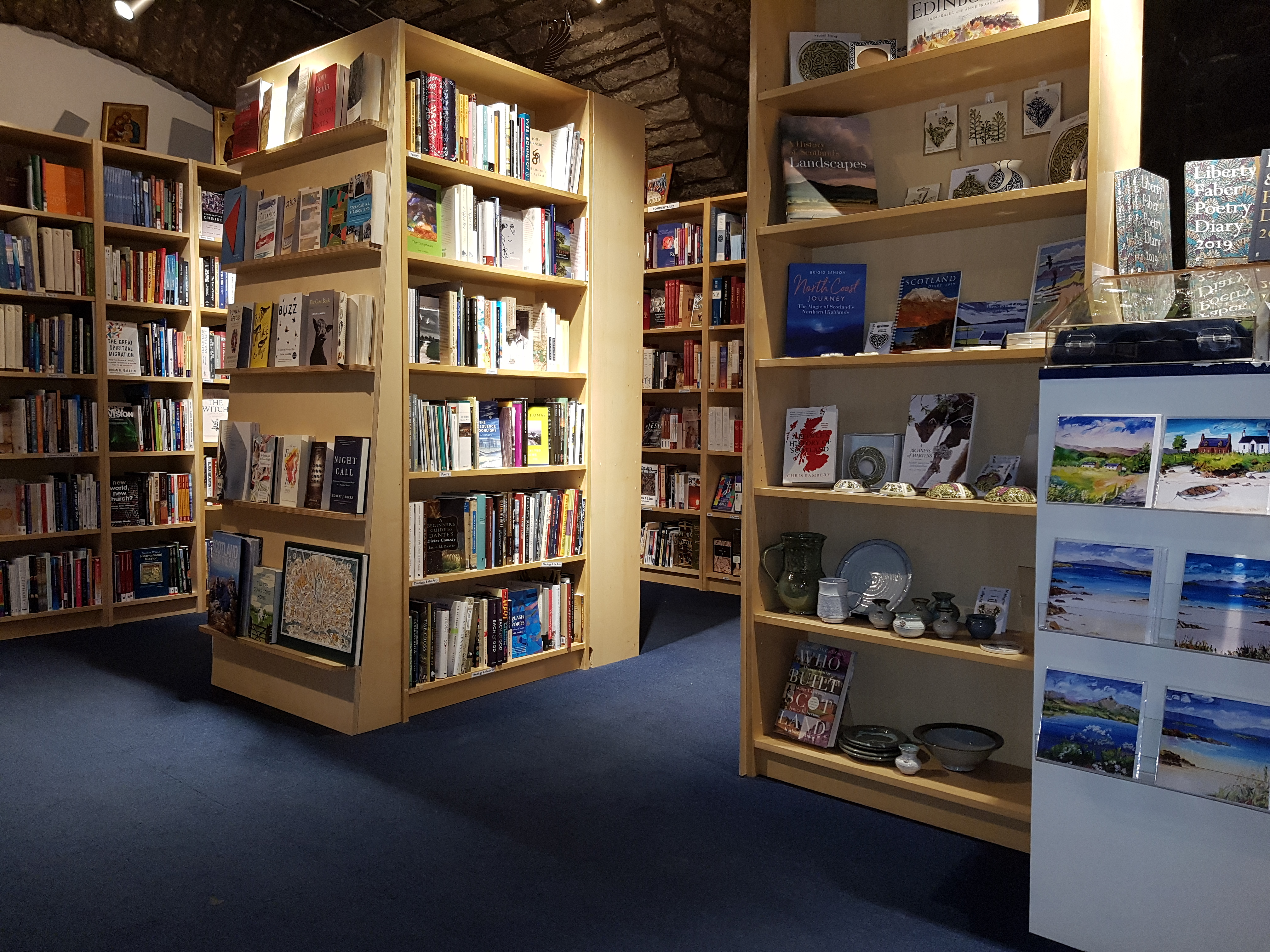 bookshop cornerstone edinburgh church month newly completed within located centre john st