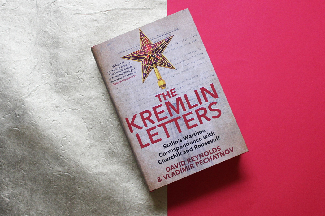Photo of 'The Kremlin Letters' copy in red and gold background