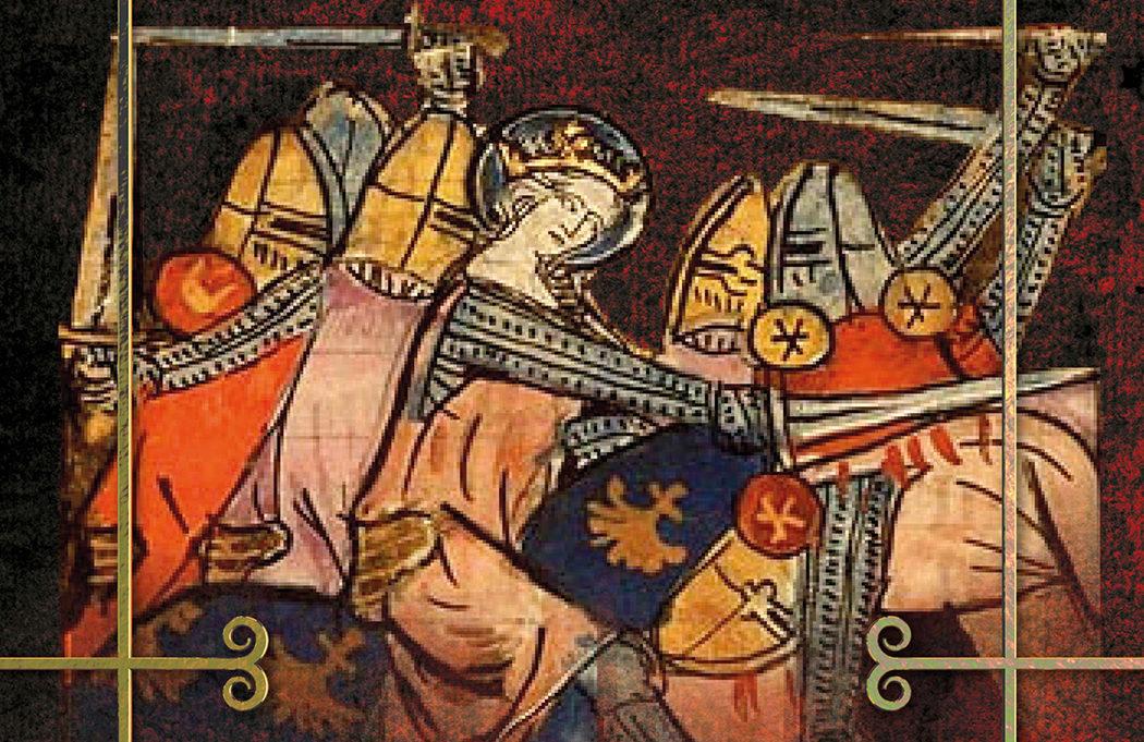 Matilda fighting on horseback cover detail