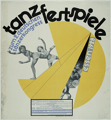 Burchartz Tanzfest, 1929