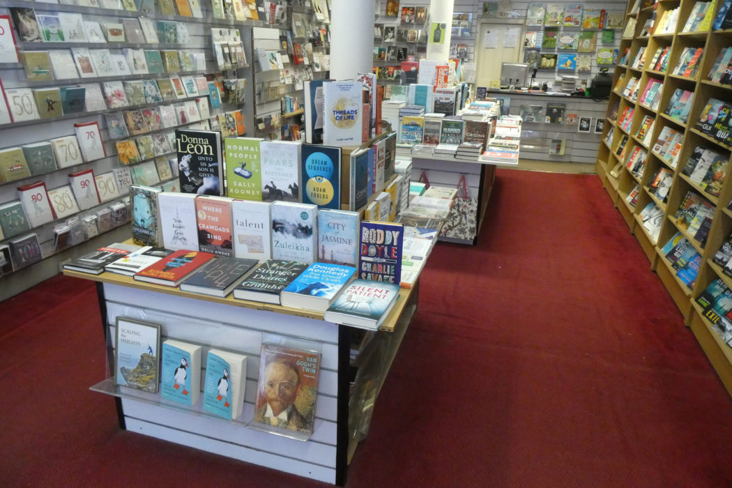 The inside of Hyndland Bookshop