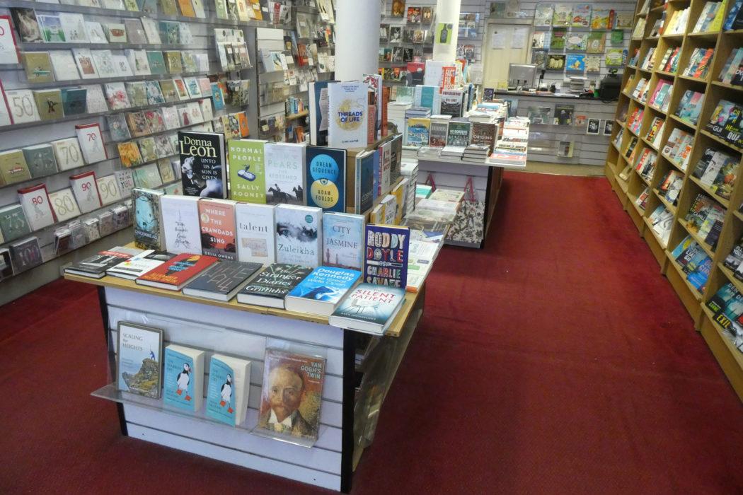 The inside of Hyndland Bookshop