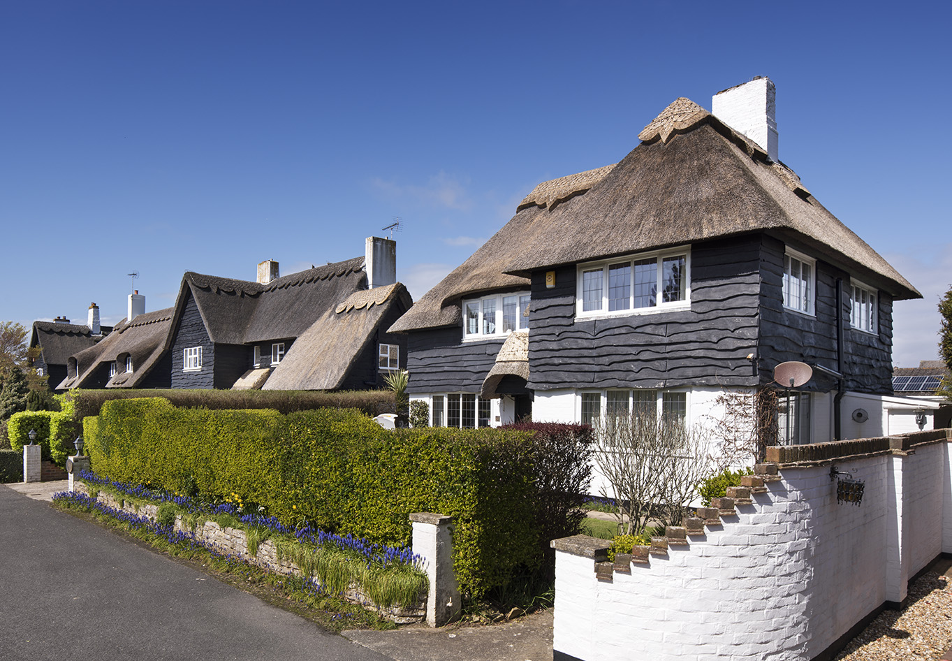 Bognor Regis, Aldwick Bay Estate, The Fairway, houses, by P.D. Hepworth c. 1934