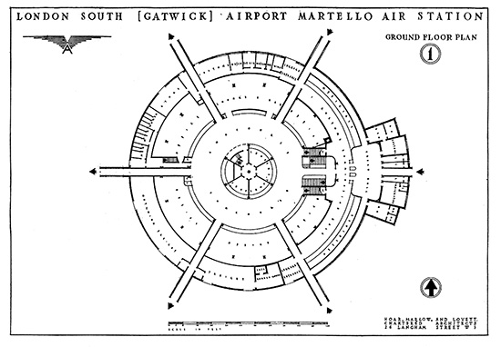 Gatwick Airport, Martello Air Station.