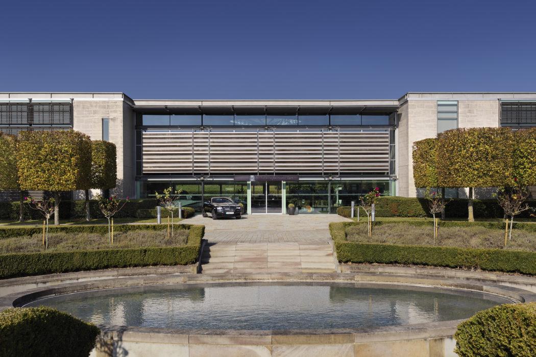 Westhampnett, Rolls-Royce headquarters, by Nicholas ...