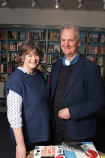 Aldeburgh Bookshop Owners, Mary and John.
