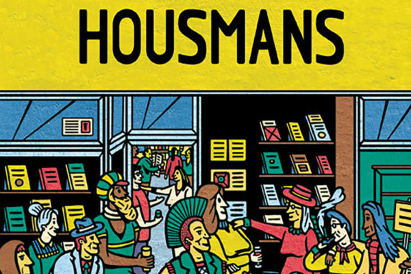 Housmans Shopfront Illustration