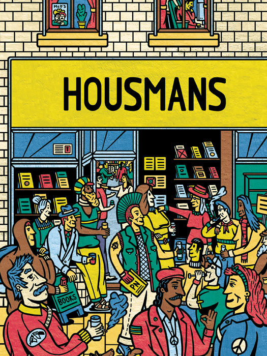 Illustration of Housmans Shopfront