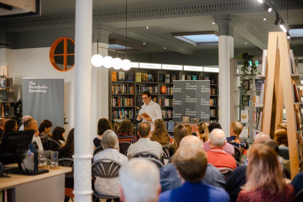 Talks at the Portobello Bookshop opening event
