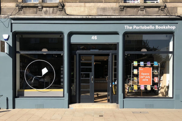 The Portobello Bookshop exterior