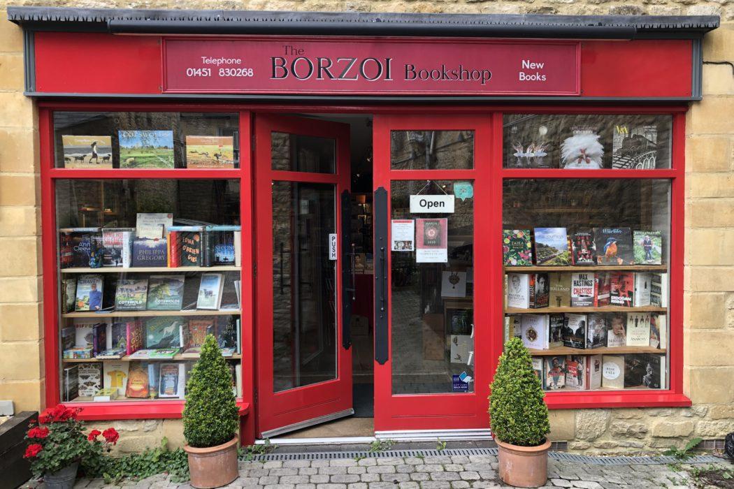 The exterior of The Borzoi Bookshop