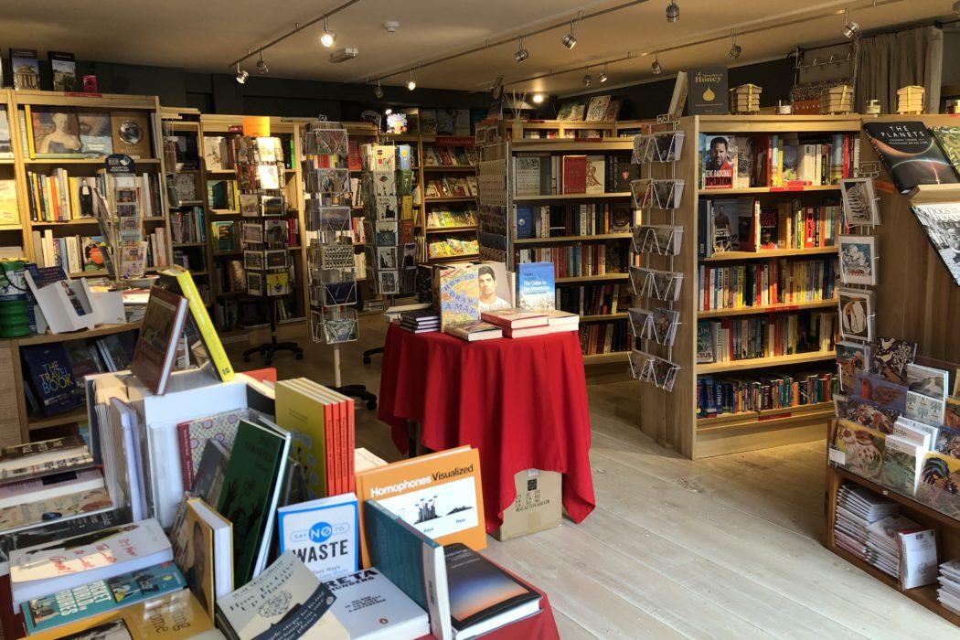 Inside The Borzoi Bookshop
