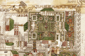 A 16th-century Portuguese Plan of the Badi' Palace