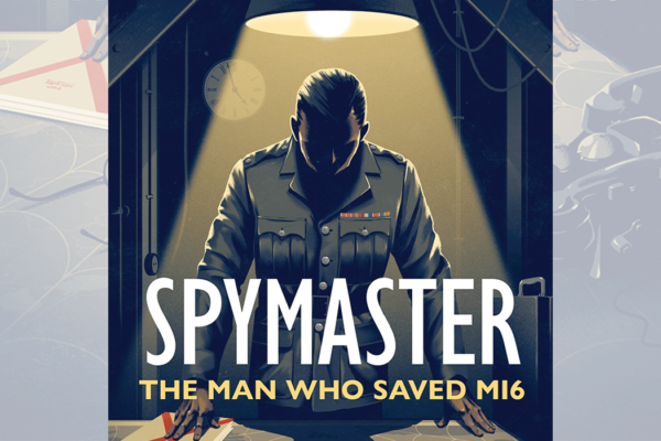Cover detail from Spymaster by Helen Fry